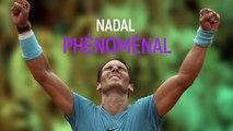 Roland-Garros 2018 : quand Nadal rime avec phénoménal