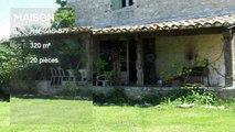 QUERCY - PROCHE BOURG DE VISA - Maison de Maitre avec 6 chambres, maison des amis et dependants