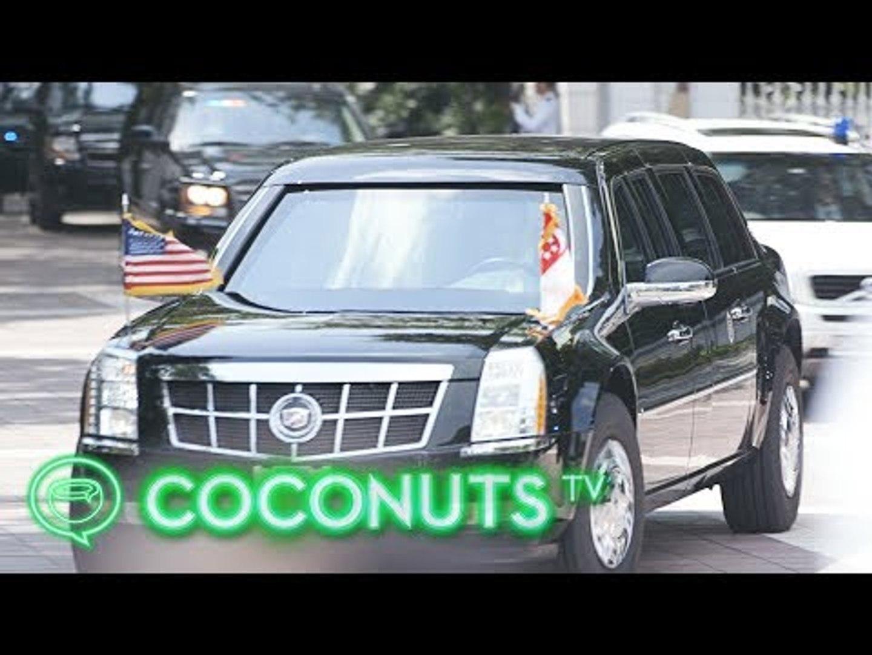 TRUMP KIM SUMMIT   We found Trump!   Coconuts TV