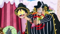 Sanji nervous, Luffy Makes Fun Bege, Mother Caramel Intro - One Piece 831
