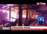 Kebakaran Besar Hanguskan Pasar Tradisonal di Banyuwangi