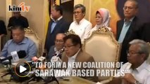 Sarawak BN componenparties leave coalition, forms new state-based alliance