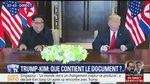 """Rencontre Kim/Trump: """"Nous voulons avoir des relations très spéciales"""", annonce Donald Trump"""