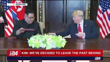 Trump, Kim sign 'comprehensive' joint document