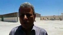 #ليبيا_الآن   #فيديو   عميد بلدية #طبرق الناجي مازق متحدثًا من داخل مخازن السلع التموينية عن مشروع مكافحة القوارض، خلال الزيارة التي أجراها برفقة وكيل ديوان الب