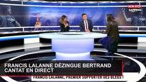 Francis Lalanne dézingue Bertrand Cantat en direct (Vidéo)