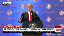 Trump warns CNN's Jim Acosta to 'be nice'
