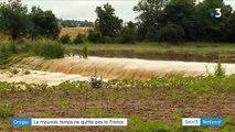 Orages : l'ouest de la France sous des trombes d'eau