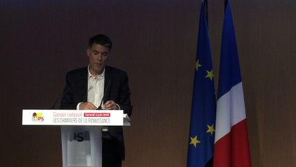 Les chantiers de la renaissance - Discours d'Olivier Faure