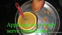 apple puree   Apple puree recipe for babies   homemade applepuree for babies