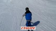 Le jeune skieur français Timothé Roch imite Candide Thovex ! - Adrénaline - Ski