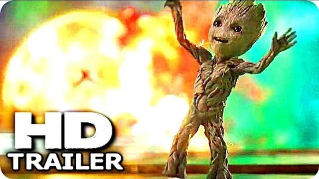 "GUARDIANS OF THE GALAXY 2 ""Baby Groot Good Tunes"" Trailer (2017) Chris Pratt Marvel Action Movie HD"