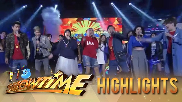 It's Showtime: It's Showtime family's special performance for the Independence Day