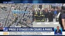 """Prise d'otages à Paris: """"Nous travaillons juste au-dessus et nous ne pouvons plus sortir"""", raconte un témoin"""