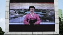 Summit Trump-Kim, a Pyongyang un maxi schermo per i passanti