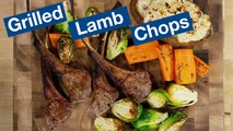 Grilled Lamb Chops on the Otto Wilde Grill Recipe