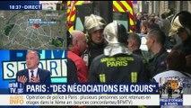 """Prise d'otages à Paris: """"Des négociations en cours"""" (2/2)"""