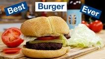 Hamburgers on the Otto Wilde OFB Grill