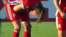 1-0 Kayleigh Green Goal FIFA  Women WC Qual. Europe  Group 1 - 12.06.2018 Wales (W) 1-0 Russia (W)