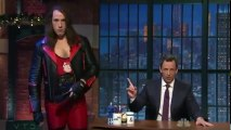 Late Night with Seth Meyers S01 - Ep141 James Corden, Vanessa Bayer, Robert Earl HD Watch