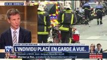 Prise d'otages à Paris: l'individu placé en garde à vue (2/3)