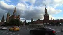 Timelapse footage as Moscow decorates the city and venues for the FIFA World Cup 2018
