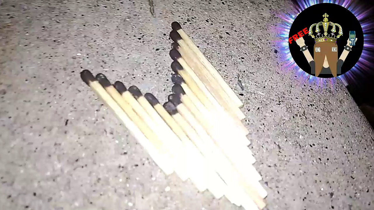 Matches fire tricks | Matches tricks