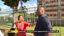 Fort-de-France: Les images chocs de l'agression d'un journaliste reporter d'images de France Télévisions par un policier