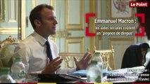 Emmanuel Macron : les aides sociales coûtent un « pognon de dingue »