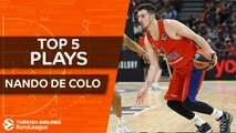 Top 5 plays, Nando De Colo, All-EuroLeague First Team