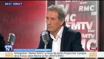 """""""L'éolien, c'est moche, inutile, c'est épouvantable et ça détruit les fonds marins"""", estime Marine Le Pen"""