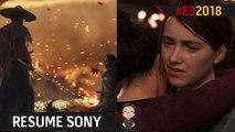 E3 2018 : Résumé de la conférence Sony / PlayStation