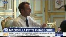 """Macron sur les aides sociales: """"On est dans la continuité des 'sans dents' de Hollande"""", déclare la porte-parole LR"""