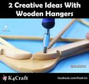 Reuse wooden hangers. You can transform wooden coat hangers into a wooden dish rack and more...via: Thaitrick,