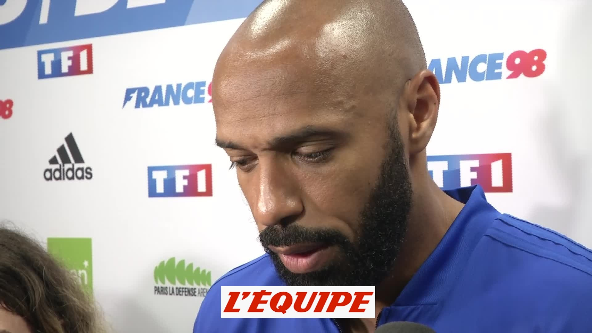 Henry «Beaucoup d'émotion» - Foot - Gala - France 98