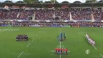 L'impressionnant haka des jeunes rugbymen néo-zélandais