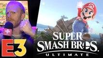 E3 2018 : On a joué à Smash Bros Ultimate sur Switch, nos impressions ultimes