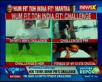 Fitness challenge 'Hum fit hai toh India fit'; India joins in, opposition mocks