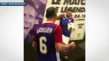 Zidane et France 98 s'éclatent au Teqball !