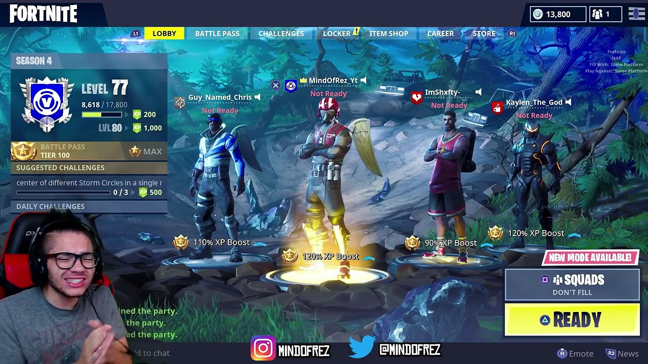 Ceeday Fortnite Season 7 New Skins Are Overpowered 25 Kills Fortnite Battle Royale 9 Year Old Kid Starter Pack And Free Dailymotion Video