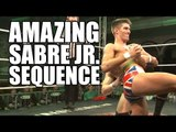 AMAZING ZACK SABRE JR. CHAIN WRESTLING SEQUENCE | New Generation Wrestling