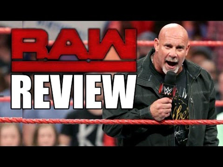 Goldberg Makes Huge WWE Announcement! Raw Is Fun Again! | WWE RAW 11/21/16 Review