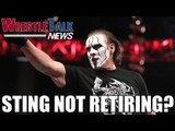 Sting NOT Retiring? 2 Top Stars Leave TNA! - WrestleTalk News