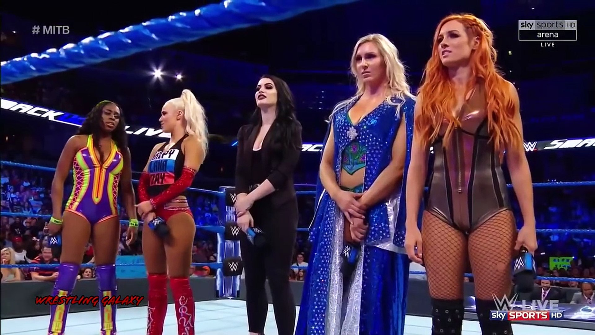 WWE Smackdown Live Highlights HD 6_12_2018 - WWE entertainment