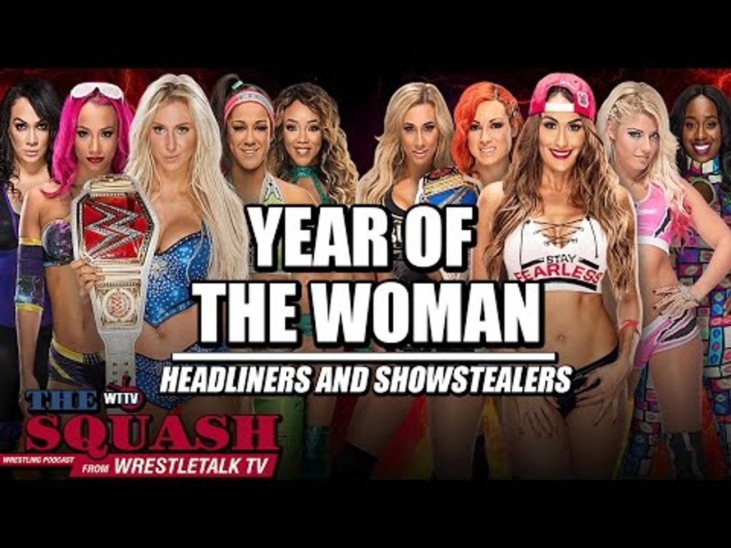 WWE's Year of the Woman! Hell in a Cell Headliners and Show Stealers | The Squash Podcast