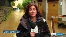 Pyrénées-Atlantiques : Salies-de-Béarn en grande partie inondée