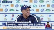 Blessure à l'entraînement: Mbappé écarte avec le sourire toute rivalité entre Parisiens et Marseillais