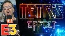 E3 2018 : On a joué en réalité virtuelle à Tetris Effect et la magie Mizuguchi opère vraiment
