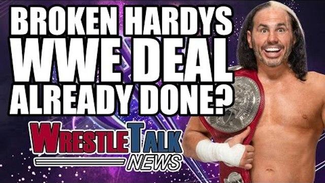 Another WWE Wrestler Released, Broken Hardys WWE Deal Done? | WrestleTalk News April 2017