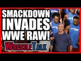 Smackdown INVADES Raw!   WWE Raw, Oct. 23, 2017 Review